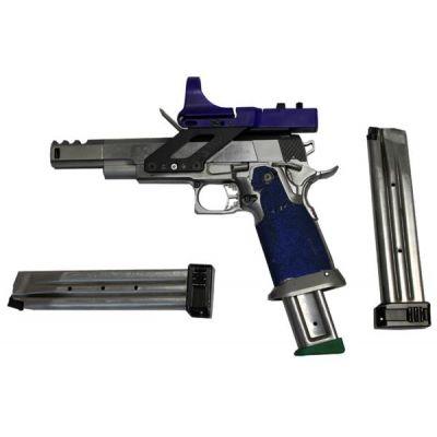 38 Infinity IMM pistol. Used