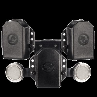 1911 triple portacargador holder w / 2 magnets