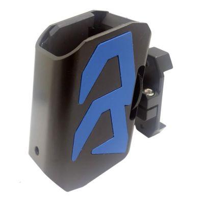 Portacargador aluminio Alpha-X DAA azul
