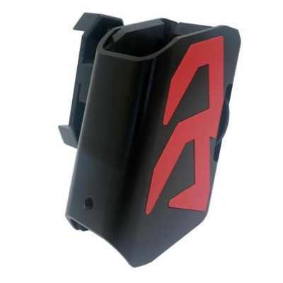 magazine holder aluminum Alpha-X DAA red