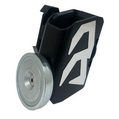 Portacargador aluminio con iman Alpha X DAA gris