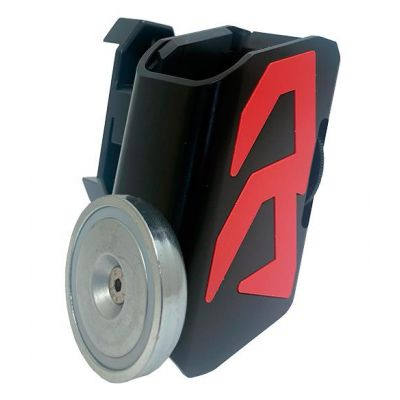 magazine holder aluminum magazine holder with red Alpha-X DAA magnet
