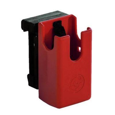 Ghost Hybrid red magazine holder