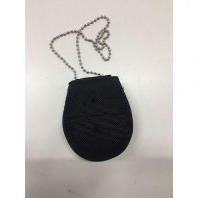 Hanging badge holder or belt with clip