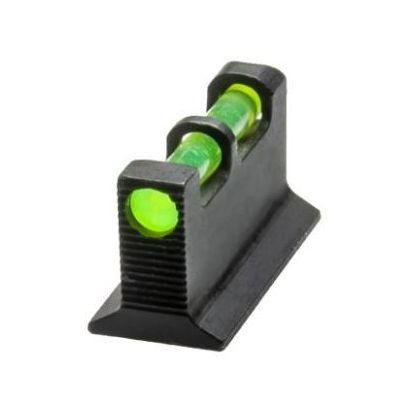 Punto mira fibra Glock HIVIZ