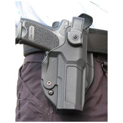 Holster Xtreme Glock 17 Left Handed Level 3 Radar