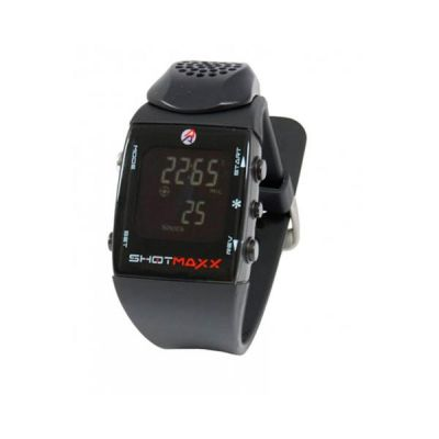 Reloj timer Shotmaxx 2 fondo negro