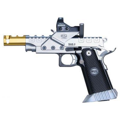 9 SAS II UR Shorty pistol w / optic sight Bul