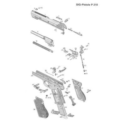 Spring firing pin P210
