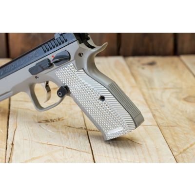 Grip CZ / Shadow long-medium aluminum Armanov