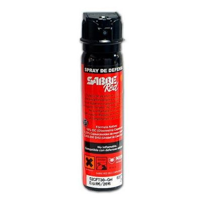 Spray defensa espuma Sabre Red MK-4