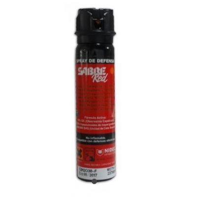 Self defense pepper spray gel Saber Red MK-4 (90ml)