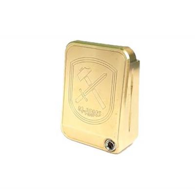 magazine 2011 brass M-Arms base pad