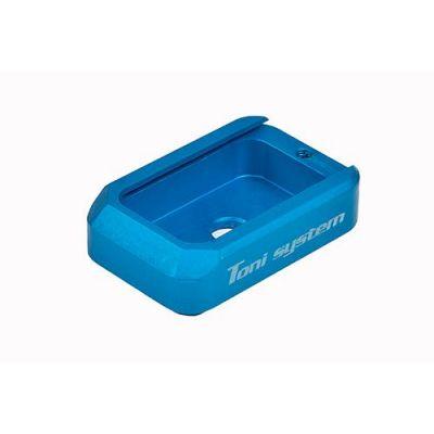 Tapa cargador azul tanfoglio Stock/ limited TONI SYSTEM
