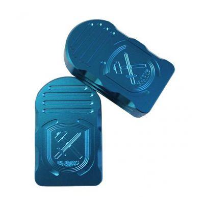 Magazine base pad Tanfoglio LF blue M-Arms