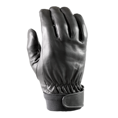 Glove with protection leather adjust wrist size M